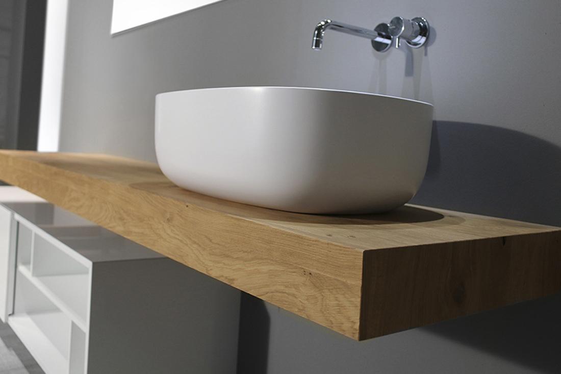 Mobili bagno rovere sbiancato design casa creativa e - Mobili bagno in legno ...