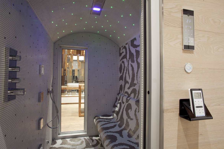 Il benessere a casa propria il bagno turco arcobaleno - Sauna per casa prezzi ...